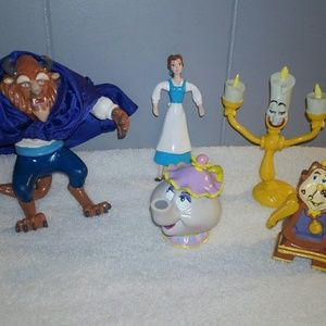 Beauty and the Beast Toy Figures